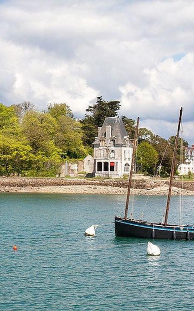 Le Telenn Mor et l'île Tristan