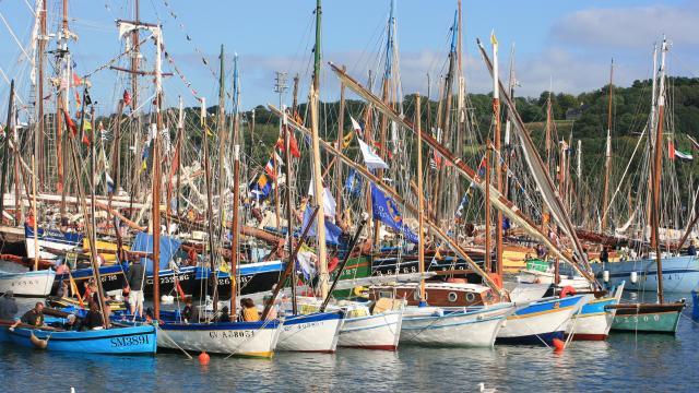 Flottille de vieux gréements