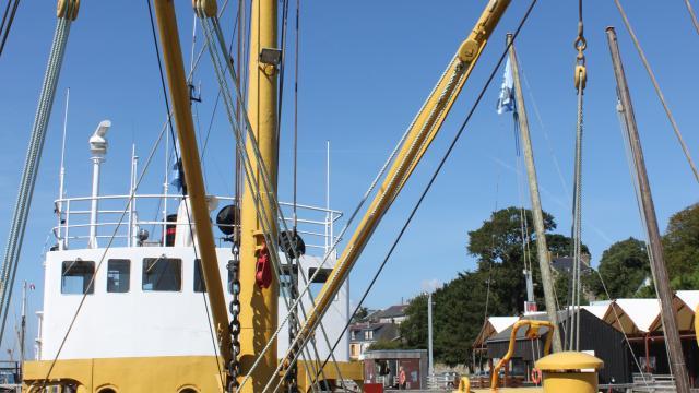 Baliseur Le Roi Gradlon Port-musée bateau à flot- Douarnenez