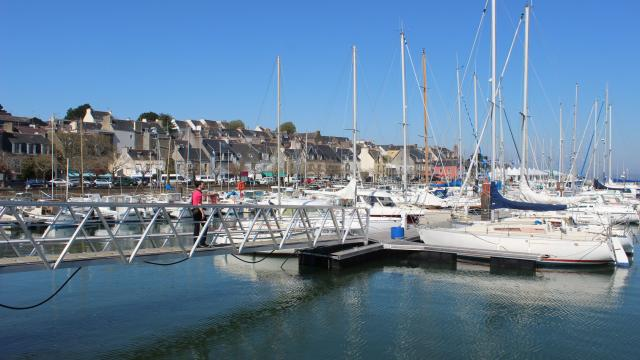 The Marina in Tréboul