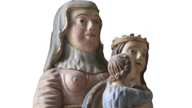 Statue De La Vierge Chapelle De Kerinec Poullan Sur Mer