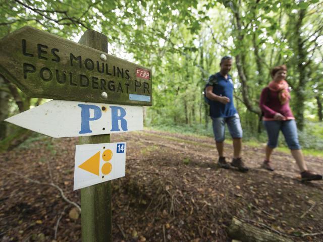 Circuit de randonnée des Moulins - Poullan-sur-Mer