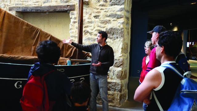Visite guidée du Port-musée