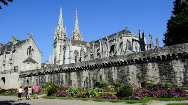 La cathédrale Saint-Corentin de Quimper