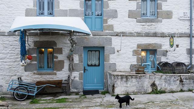 Maison typique du bourg, Île-de-Sein