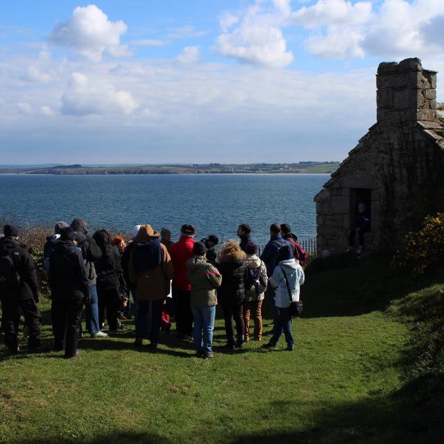 Visite guidée de l'île Tristan, la maison des gardes