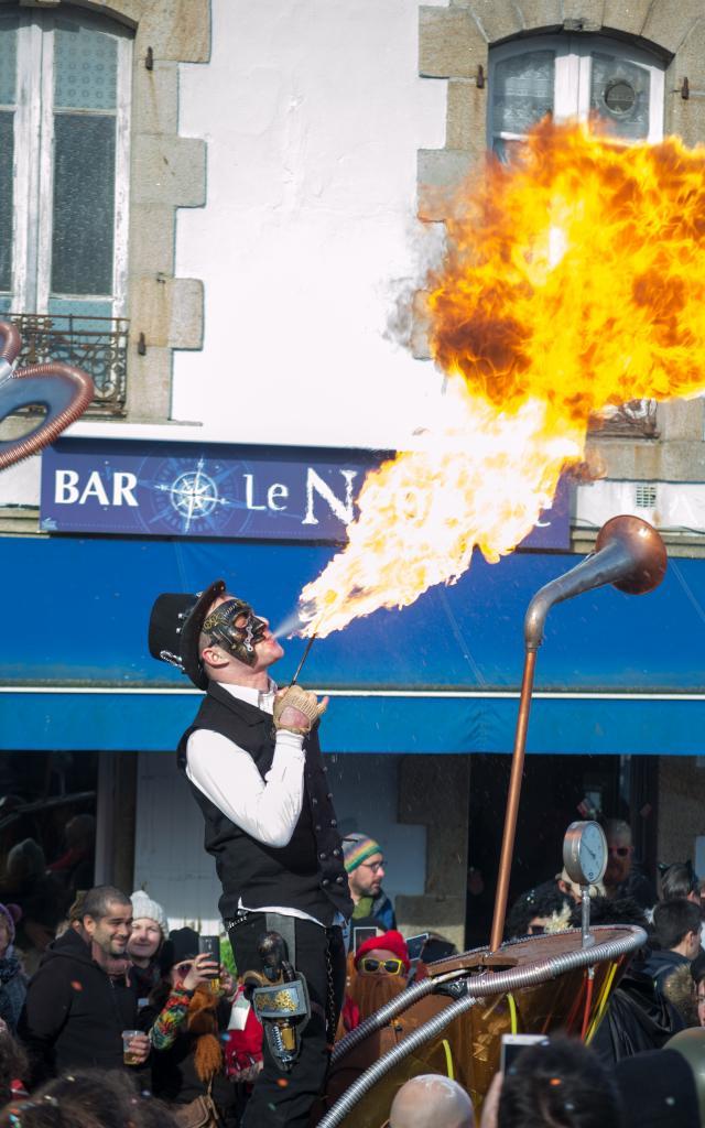 Les Gras de Douarnenez, défilé de carnaval du dimanche