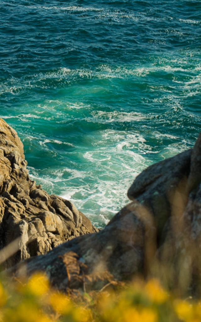 Paysage de la baie de Douarnenez