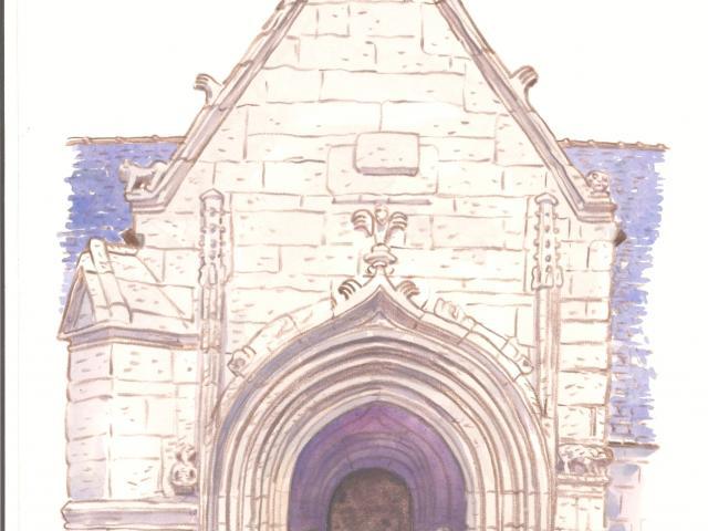 Étape 13 : l'église Saint-Germain de Kerlaz