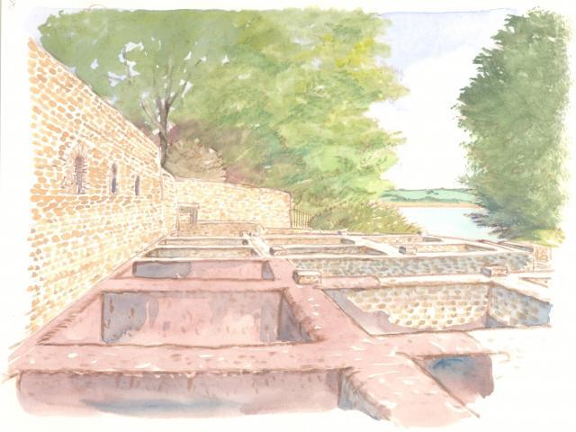 Étape 14 : les cuves à Garum, site naturel des Plomarc'h, Douarnenez
