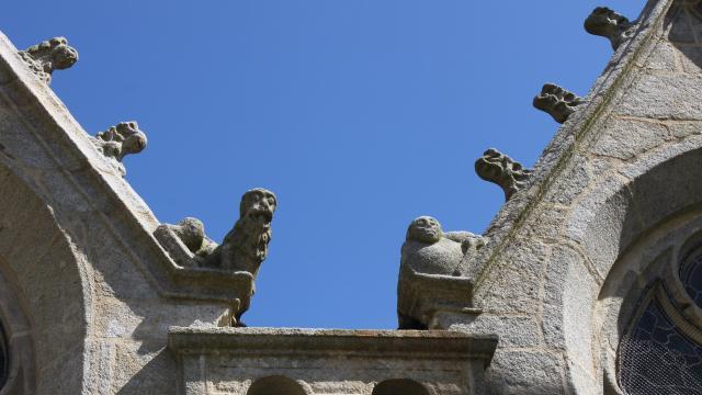 Gargouilles de l'Eglise Saint-Herlé