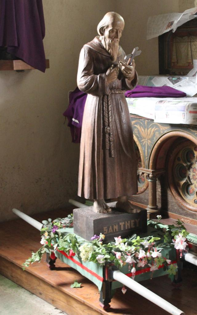 Statue de St They