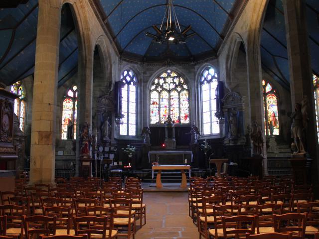 Interieur De L'eglise Notre Dame Du Juch