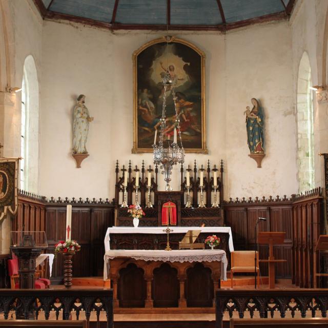 Interieur Eglise St Cadoan