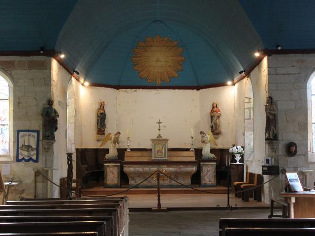 Intérieur De La Chapelle Saint Jean