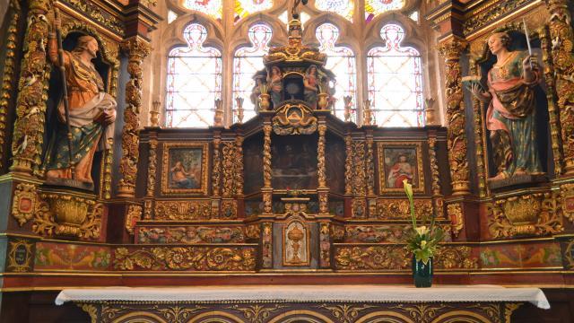 Maître Autel chapelle Saint-Jacques Pouldavid