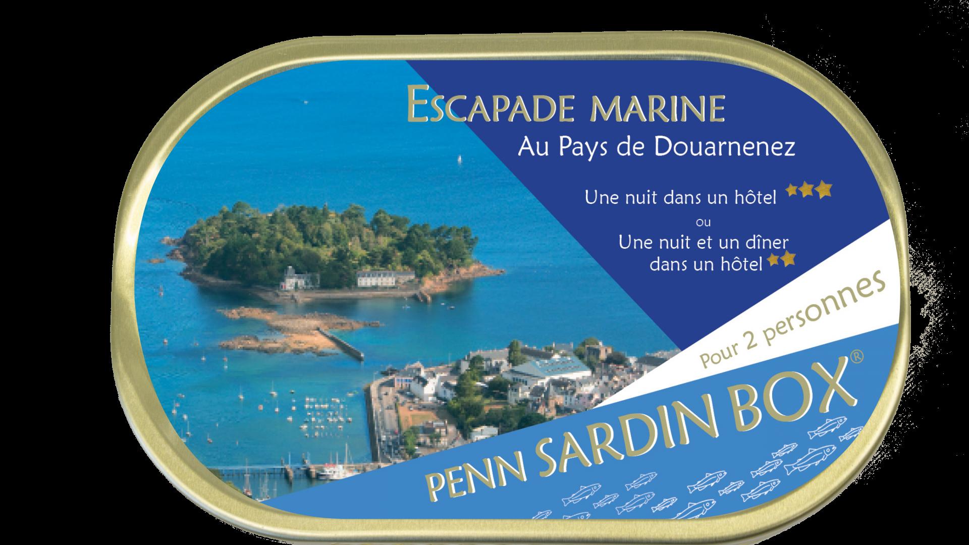 Penn Sardin Box Box Escapades Marines