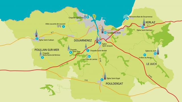 Plan Route Sacrée