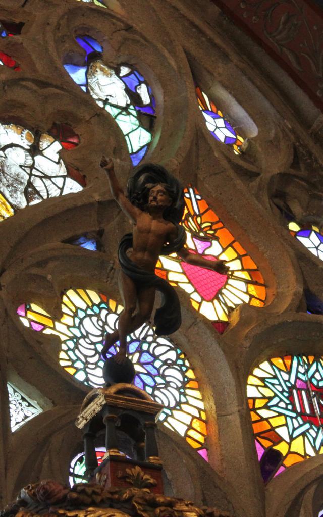 Vitraux Eglise St Jacques Pouldavid