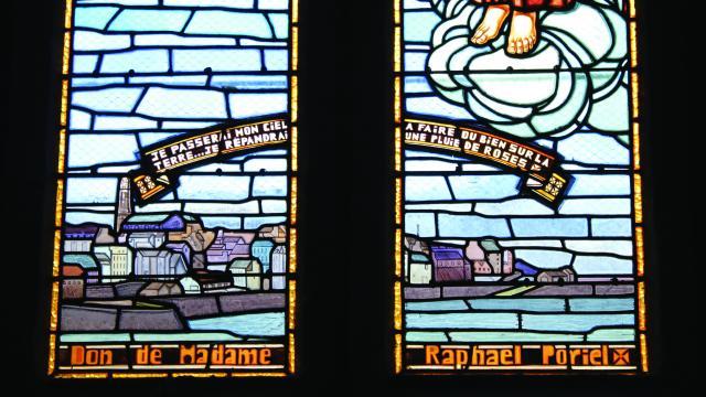 Vitraux de l'Eglise du Sacré-Coeur