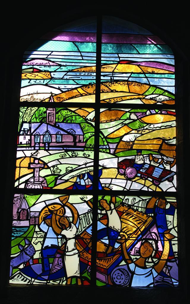 Vitraux de la chapelle Saint-Jean à Tréboul