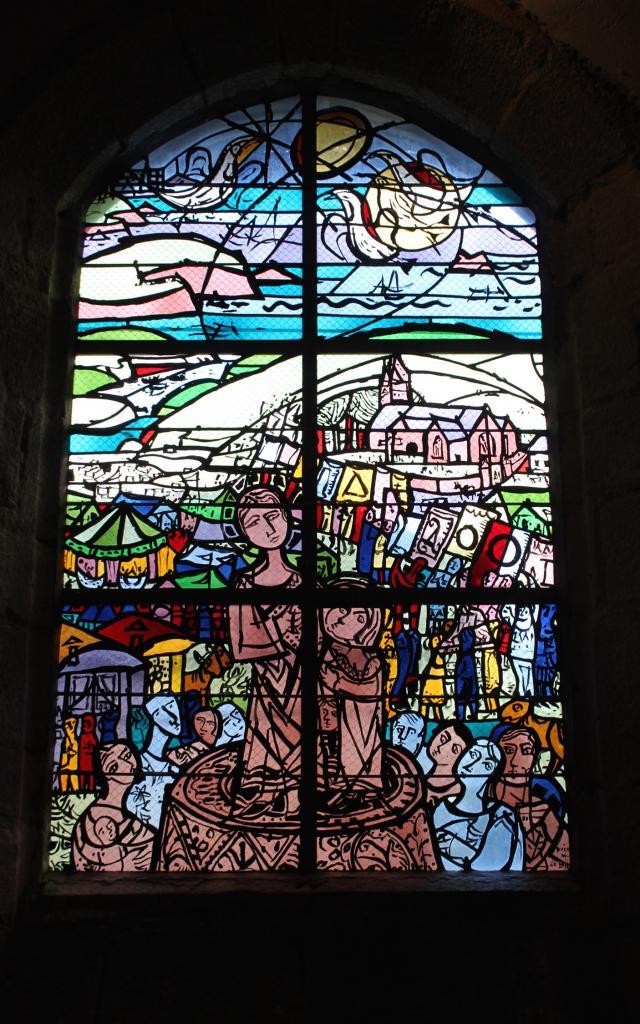 Vitraux Saint Jean Tréboul2