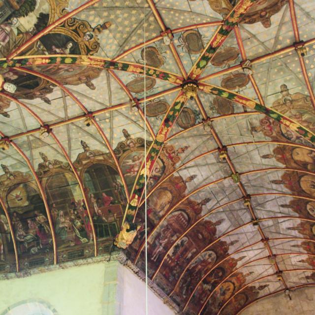 Voute de la chapelle Saint-Michel