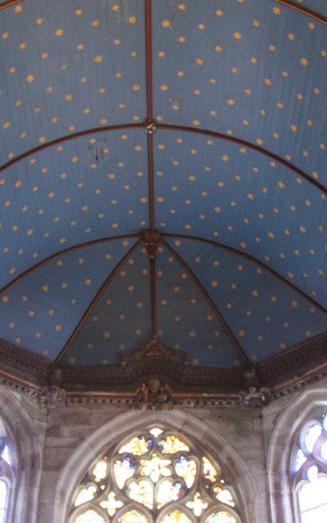 Voute De L'eglise Notre Dame Du Juch