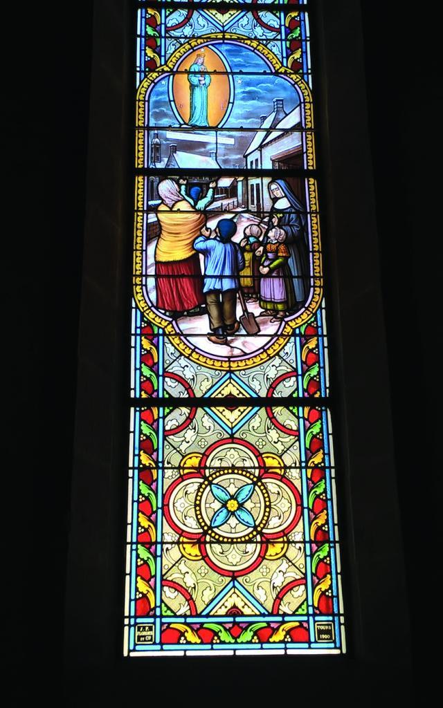 Vitraux de l'Eglise Saint-Joseph à Tréboul