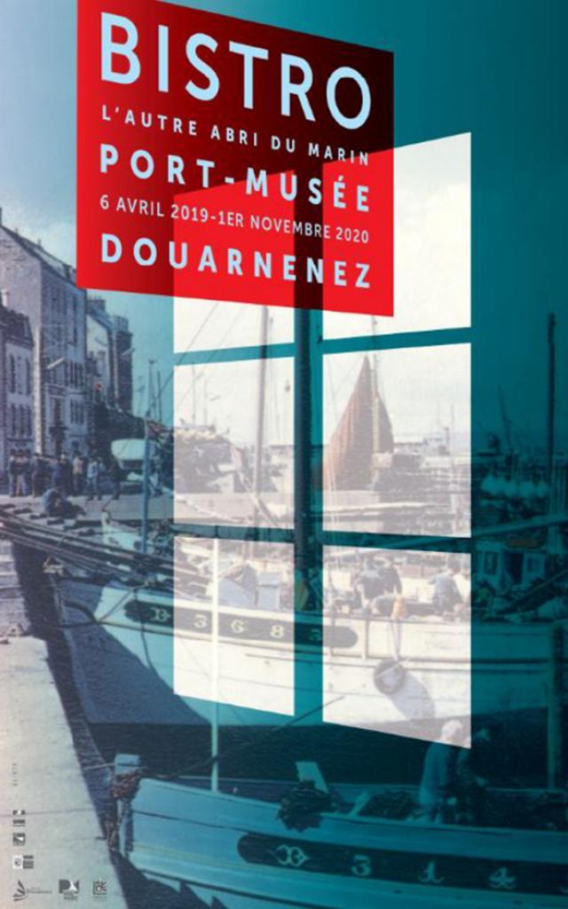 Affiche exposition Bistro Port-Musée de Douarnenez