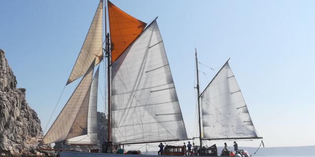 Le Skeaf, Sortie En Mer