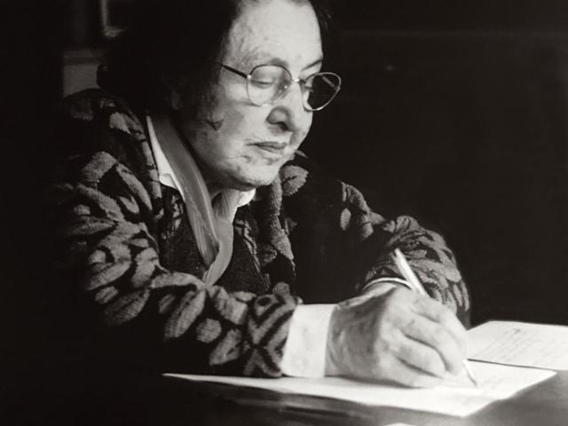 Anita Conti 1995. Fécamp, Photo Laurentgc
