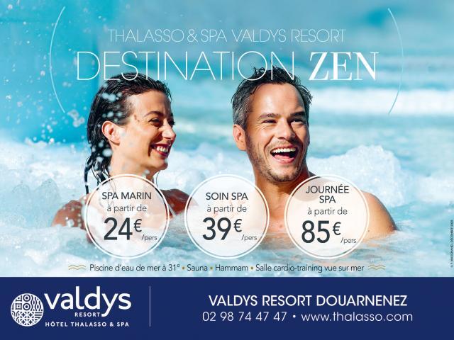 Valdys Thalasso Douarnenez Tréboul en Bretagne promotions