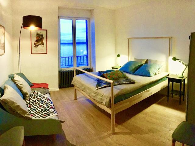 Glazocean Location de vacances en Bretagne sur le sable à Douarnenez chambre