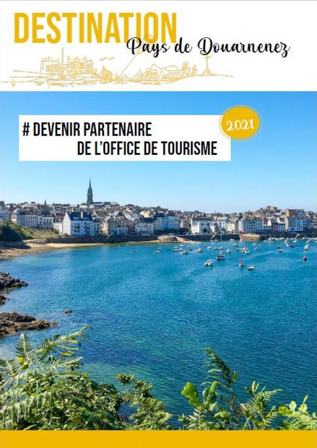 Guide Du Partenariat Office De Tourisme Pays De Douarnenez Couverture 2021