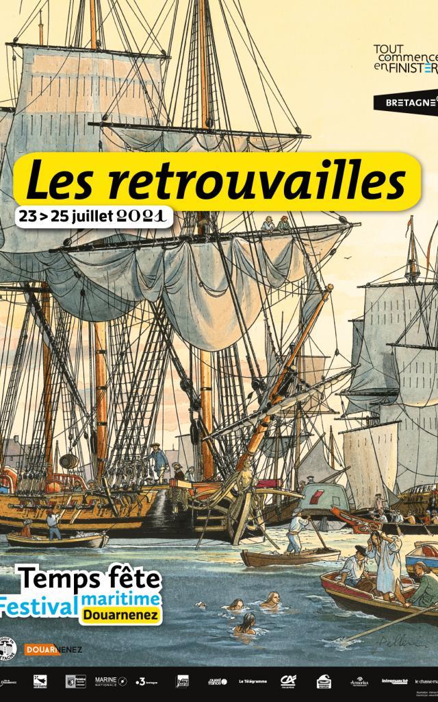 Temps Fete Festival De Bateau à Douarnenez Les Retrouvailles 2021