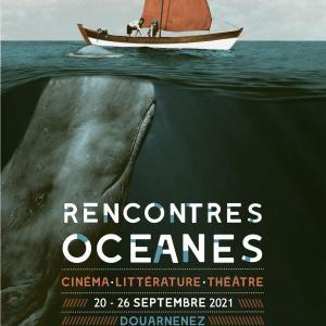 Rencontres Océanes Septembre 2021 Douarnenez Affiche