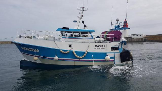 Chantier Naval Gléhen Bateau De Pêche Gv