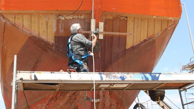 Restaurer Un Navire Du Patrimoine Implique Des Compétences Et Des Procédures Spécifiques Différentes De Celles Mises En œuvre Dans La Construction Ou La