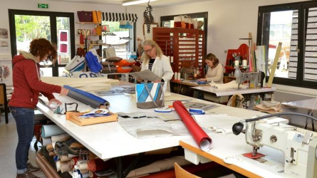 Sellerie Anne Marine Atelier équipe